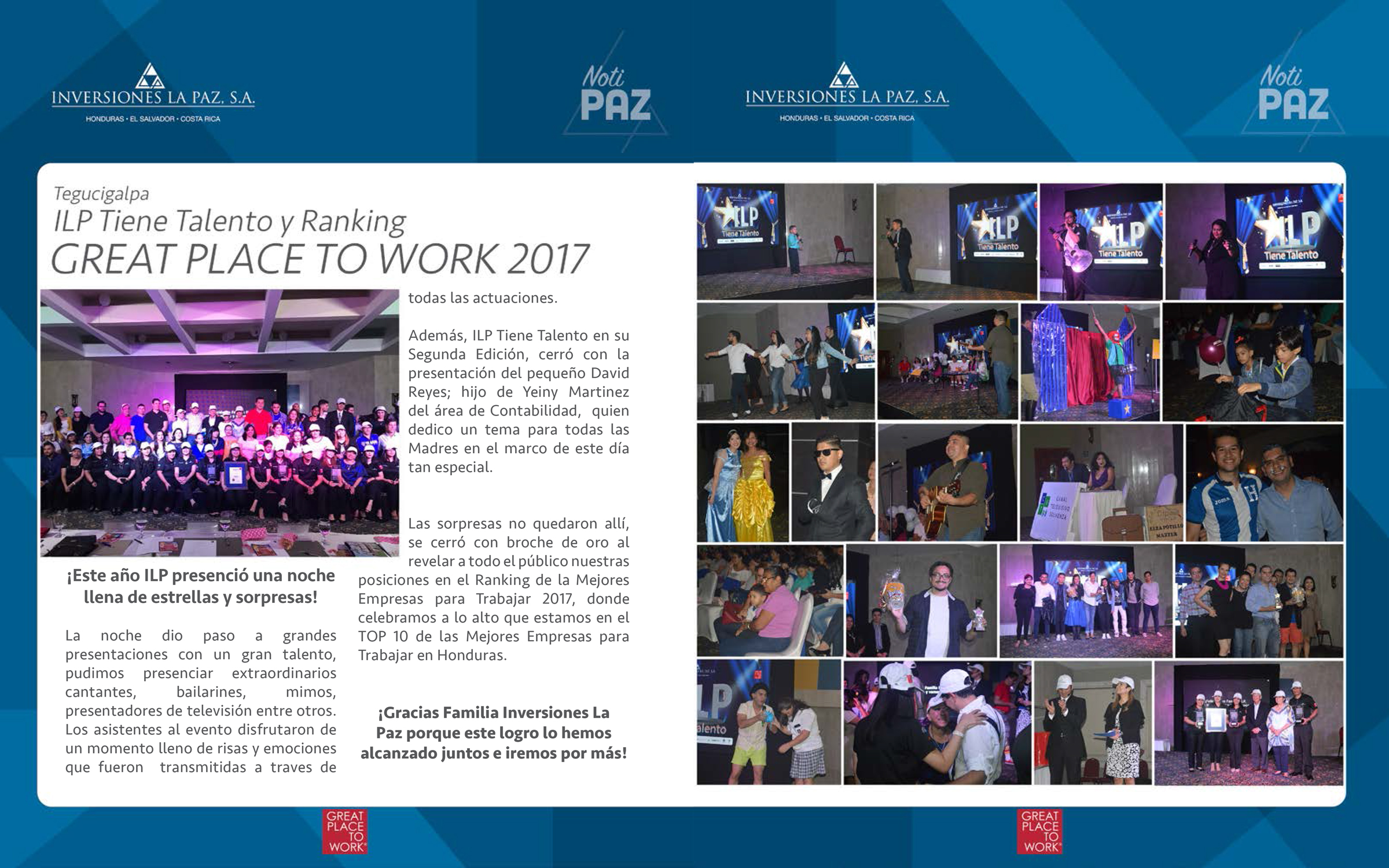 Great Place to Work 2017